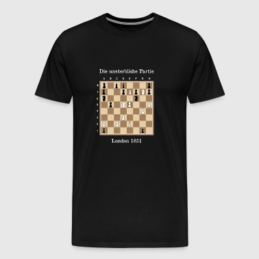 The Immortal Game - Immortal Game Chess - Men's Premium T-Shirt