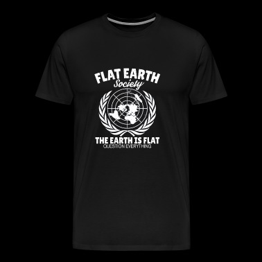 Flat Earth Astrology Flat Earth Earth Gift - Premium-T-shirt herr