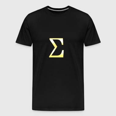 Sigma in gold - Men's Premium T-Shirt