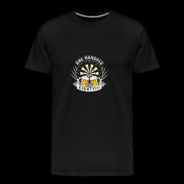 Dart Beer 180 Gift - Men's Premium T-Shirt