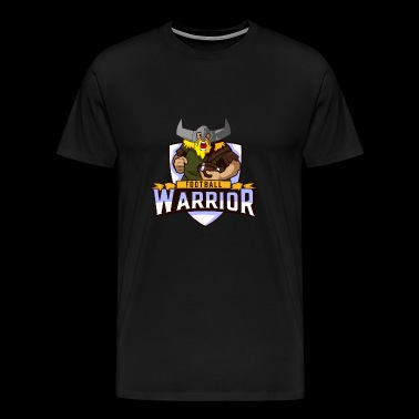 Vikings de guerrier de football - T-shirt Premium Homme