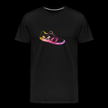 Running Sneakers Running Running Gift Idea - Men's Premium T-Shirt
