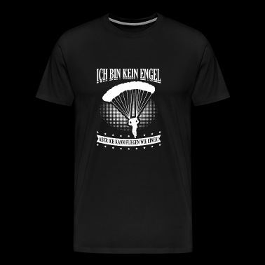 I am not an angel but I can fly like one - Men's Premium T-Shirt