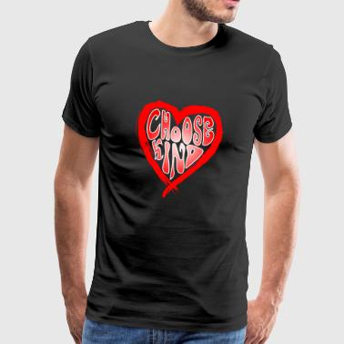 Choisissez Kind Kind Anti-Bullying Spreading Kindness - T-shirt Premium Homme