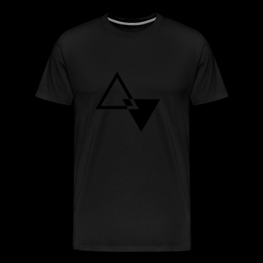 MODERN TRIANGLE SHAPE - Men's Premium T-Shirt