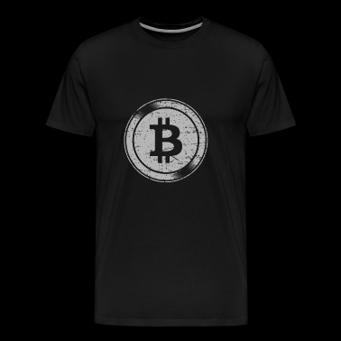 Bitcoin Logo - Funny Cryptocurrency Blockchain - T-shirt Premium Homme