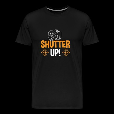 Shutter UP! - Premium T-skjorte for menn
