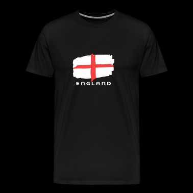 England flag flag font Sport Team Nation - Men's Premium T-Shirt