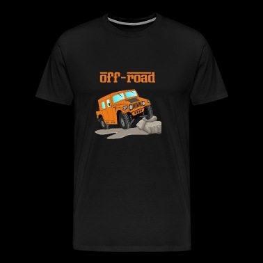 Off-road vehicle 4x4 SUV gift idea - Men's Premium T-Shirt