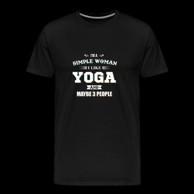 Yoga Happy Meditation Hatha Tantra Training - Men's Premium T-Shirt