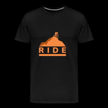 Ride gift bike mountainbike - Mannen Premium T-shirt