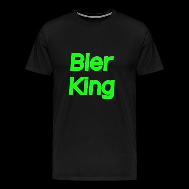 Beer King - Men's Premium T-Shirt