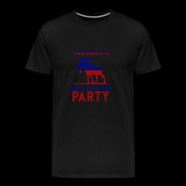 Bull Moose Party Progressif Teddy Roosevelt - T-shirt Premium Homme