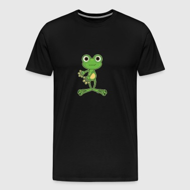 Floss Dance Move Frog - T-shirt Premium Homme