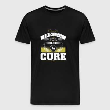 Hunting for a cure - Men's Premium T-Shirt