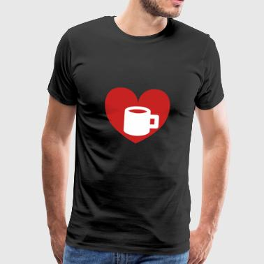 Love Coffee Love Coffee - Men's Premium T-Shirt