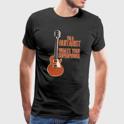 Awesome GUITARIST - Musik - Männer Premium T-Shirt