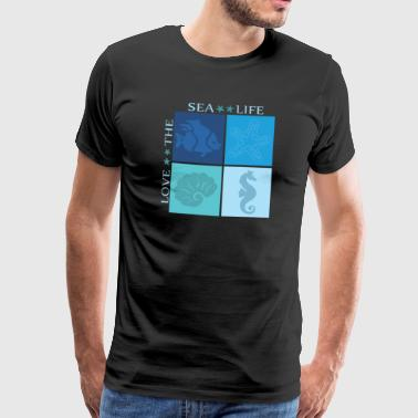 sea ​​life - Men's Premium T-Shirt