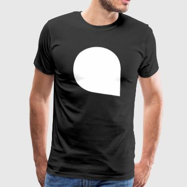 Bubble Speech Bubble Talking message - Men's Premium T-Shirt