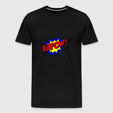 kapow- - Men's Premium T-Shirt