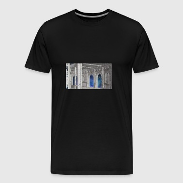Space Colosseum - Herre premium T-shirt