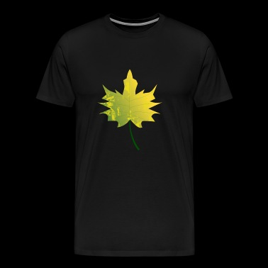 Maple leaf - maple in autumn - Men's Premium T-Shirt