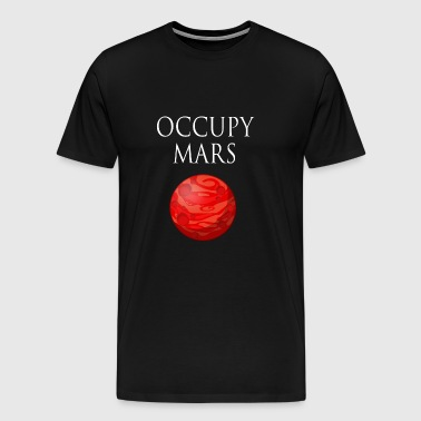Occupy March Space - Men's Premium T-Shirt