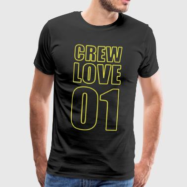 Crew Love Shirt- Paarshirt - Partnershirt - Family - Men's Premium T-Shirt