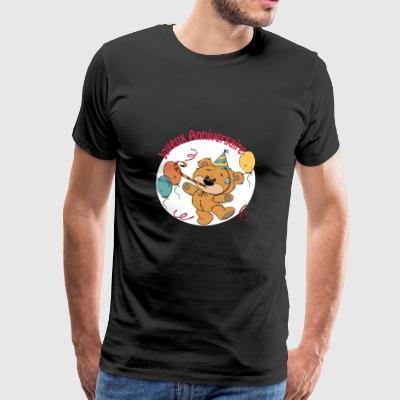 Little bear - Happy Birthday - Men's Premium T-Shirt