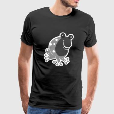 For frog lovers and pond friends gift - Men's Premium T-Shirt