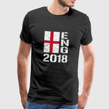 Angleterre Football - ENG 2018 - T-shirt Premium Homme