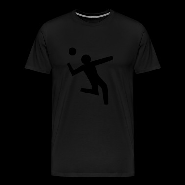 Basketball pictogram - Men's Premium T-Shirt