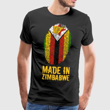 Made In Zimbabwe / Zimbabwe / Great Zimbabwe - Premium T-skjorte for menn