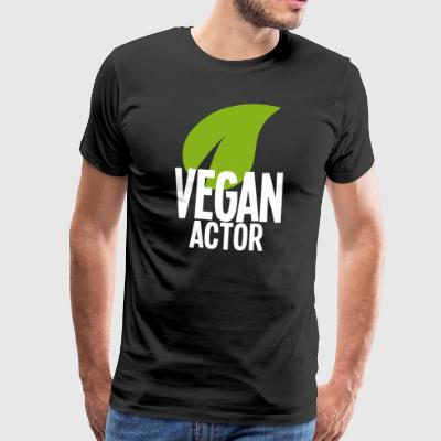 Vegan Actor - Men's Premium T-Shirt