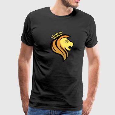 Lion of RA - Herre premium T-shirt