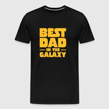 Best Dad In The Galaxy - Koszulka męska Premium