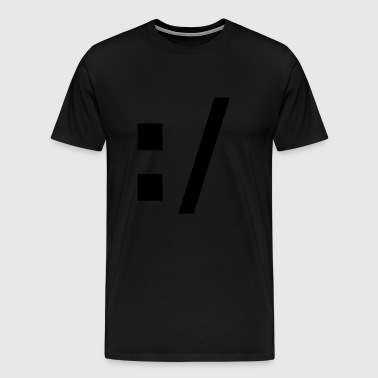 SMILEY - Mannen Premium T-shirt