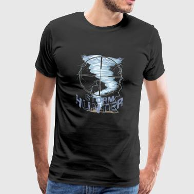 Weather Tornado Windhose Sturmjäger cool design - Men's Premium T-Shirt