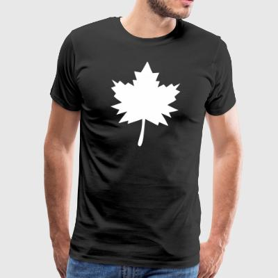 Maple Leaf Gift - Premium-T-shirt herr