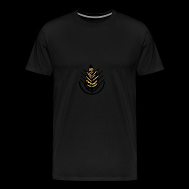 indian flower design - Men's Premium T-Shirt