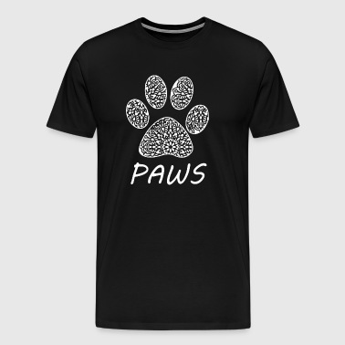 patte de chat - T-shirt Premium Homme