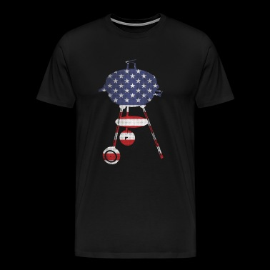 BBQ stars and stripes - Männer Premium T-Shirt