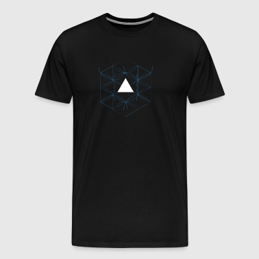 hexagon - Men's Premium T-Shirt