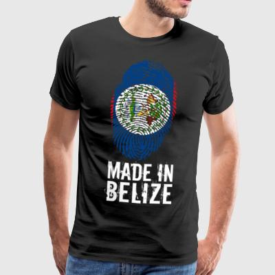 Made In Belize - Herre premium T-shirt