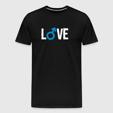 gay love - Männer Premium T-Shirt