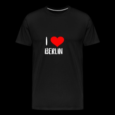 i love berlin - T-shirt Premium Homme