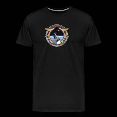 Space Shuttle Corona Sidereal - Men's Premium T-Shirt