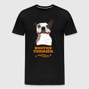 Boston terrier - T-shirt Premium Homme