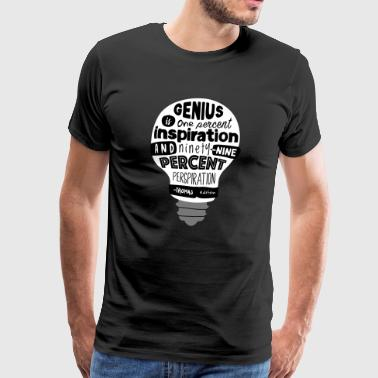 Reply with quote Thomas Edison - Men's Premium T-Shirt