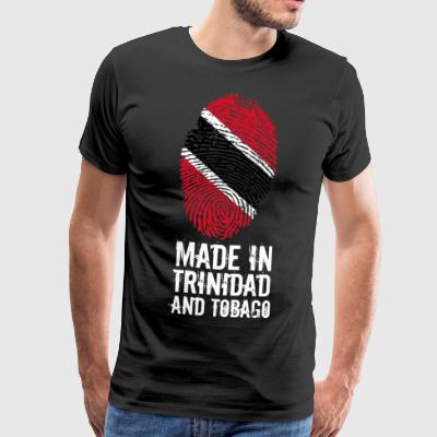Made In Trinidad og Tobago Trinidad og Tobago - Premium T-skjorte for menn